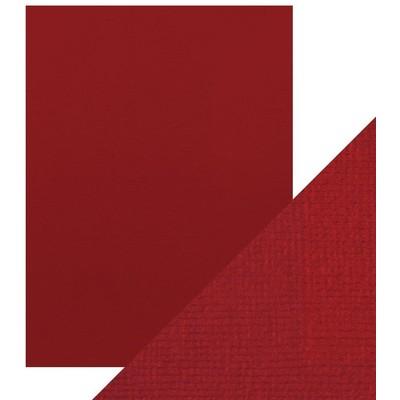 8.5X11 Weave Textured Cardstock, Cherry Red (10/Pk)
