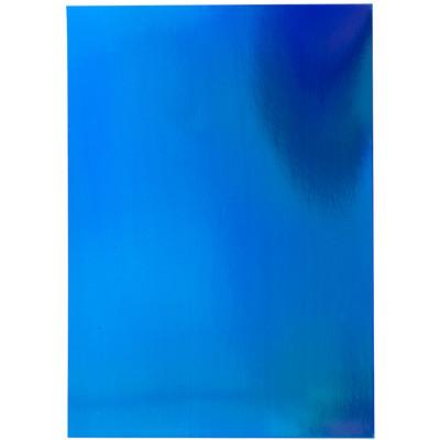 8.5X11 Mirror Cardstock, Iridescent - Tidal Wave