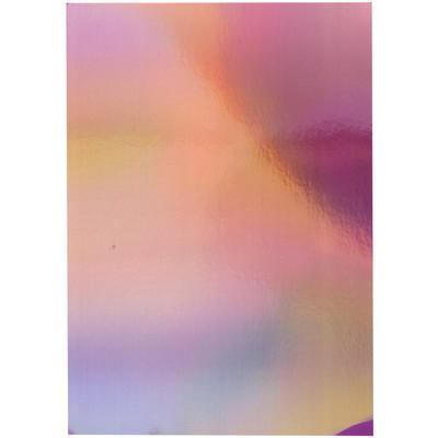 8.5X11 Mirror Cardstock, Iridescent - Petal Pink