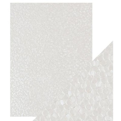 A4 Embossed Cotton Paper, Freshwater Pearls - 5Pk