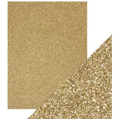 8.5X11 Glitter Cardstock, Gold Dust (5/Pk)