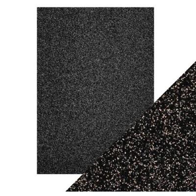 8.5X11 Glitter Cardstock, Black Sapphire (5/Pk)