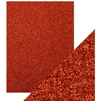 8.5X11 Glitter Cardstock, Ruby Ritz (5/Pk)