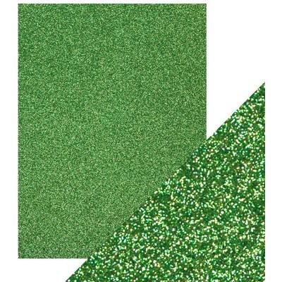 8.5X11 Glitter Cardstock, Lucky Shamrock (5/Pk)