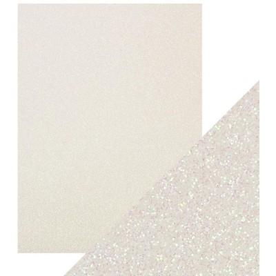 8.5X11 Glitter Cardstock, Sugar Crystal (5/Pk)