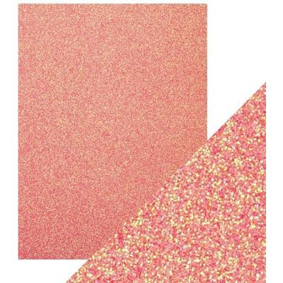 8.5X11 Glitter Cardstock, Candy Floss (5/Pk)