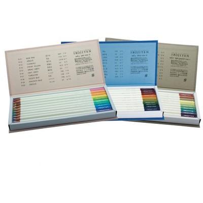 Irojiten Colored Pencils Dictionary, Woodlands (30PC)