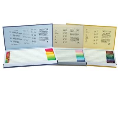 Irojiten Colored Pencils Dictionary, Seascape (30PC)