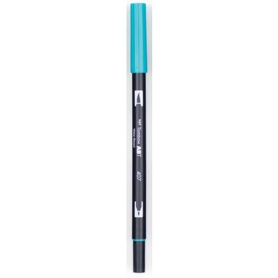 Dual Brush Pen, Bright Blue 403