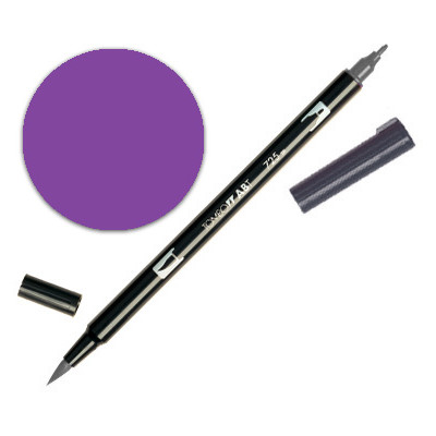 Dual Brush Pen - Violet 606
