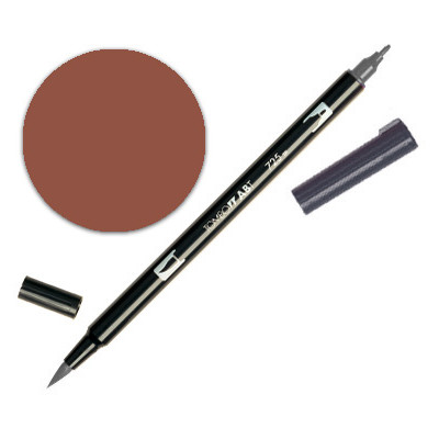Dual Brush Pen - Brown 879