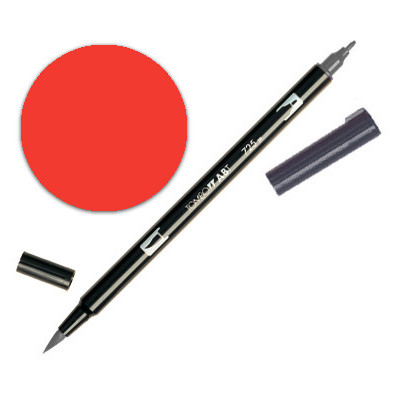 Dual Brush Pen - Warm Red 885