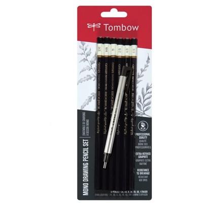 MONO Drawing Pencil Set + Eraser, 6PK