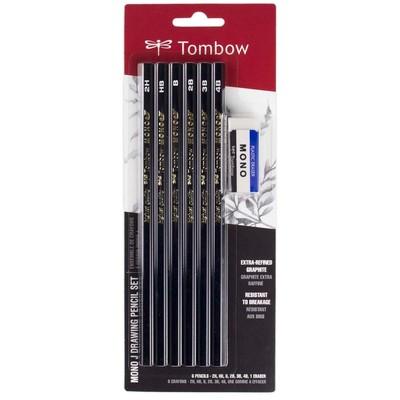 MONO J Drawing Pencil Set (6pk)