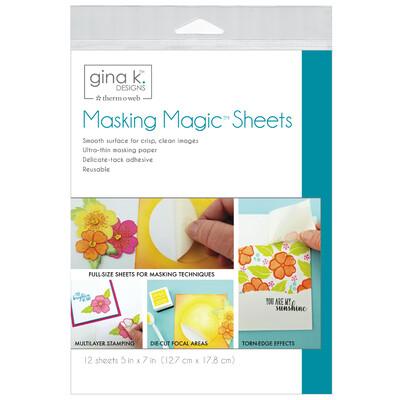 Masking Magic Sheets (5x7)