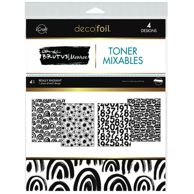 8.5X11 Deco Foil Toner Mixables, Really Radiant