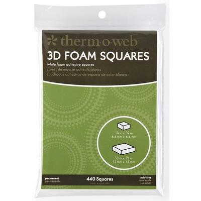 "3D Foam Squares, Combo Pack (1/2"")"