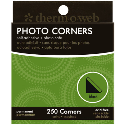 Photo Corners, Black - 250Ct Box