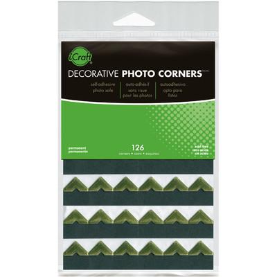 Photo Corners, Gold - Sheets (126 Corners)