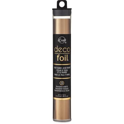 Deco Foil Transfer Sheets, Bronze (6X12)