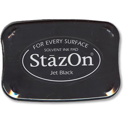 StazOn Ink Pad, Jet Black