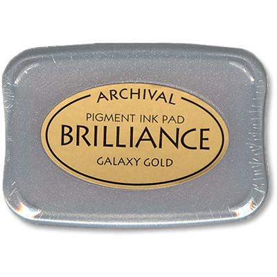 Brilliance Ink Pad, Galaxy Gold