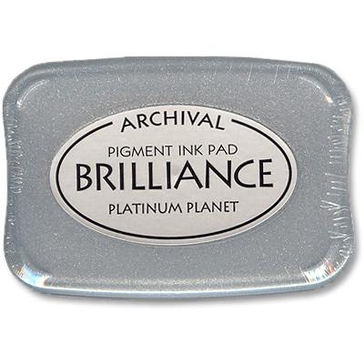 Brilliance Ink Pad, Planet Platinum