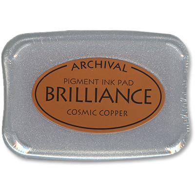 Brilliance Ink Pad, Cosmic Copper