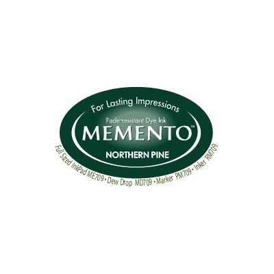 Memento Ink Pad, Northern Pine