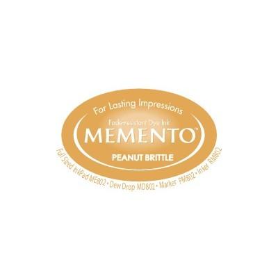 Memento Ink Pad, Peanut Brittle