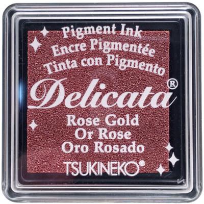 Delicata Ink Pad, Small - Rose Gold