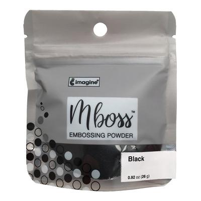 Mboss Embossing Powder, Black