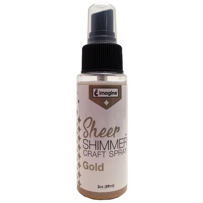 Sheer Shimmer Spray, Gold (2oz)