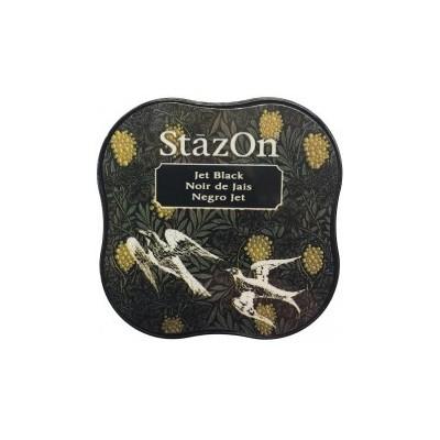 StazOn Midi Ink Pad, Jet Black