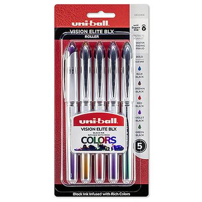 Vision Elite BLX Pen Set, .8mm (5 Colors)