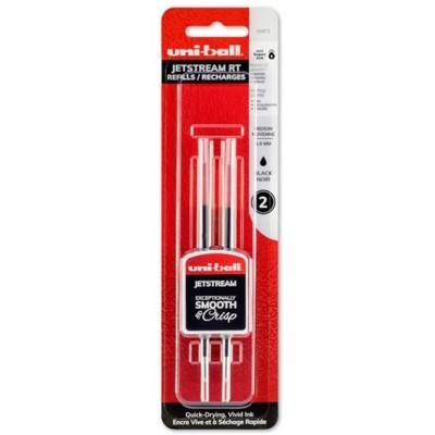 Jetstream RT Pen Refill, 1mm - Black (2pk)