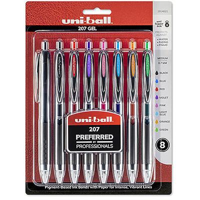 Signo 207 Pen Set, .7mm (8 Colors)