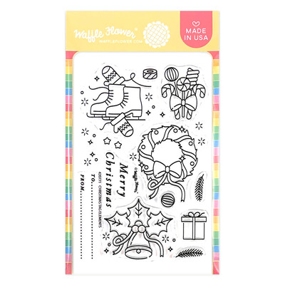 Clear Stamp, Christmas Tag Elements