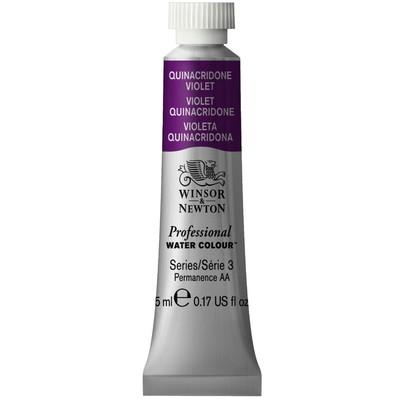 Professional Watercolour 5ml Tube, Quinacridone Violet