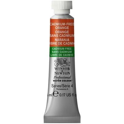 Professional Watercolour 5ml Tube, Cadmium-Free Orange