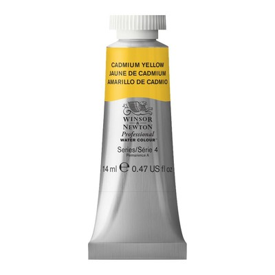 Professional Watercolour 14ml Tube, Cadmium Yellow