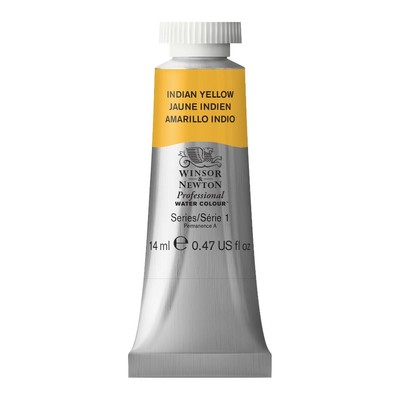Professional Watercolour 14ml Tube, Indian Yellow
