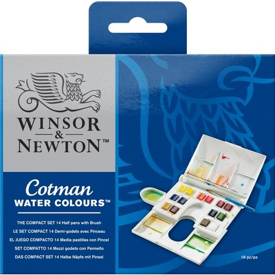 Cotman Watercolour Set, Compact