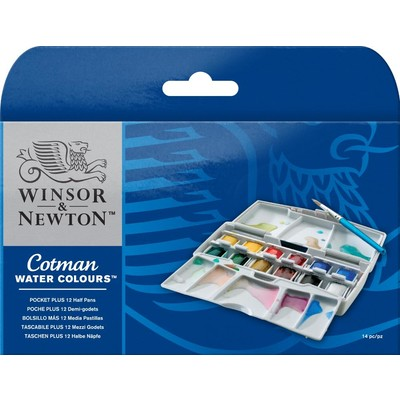 Cotman Watercolour Set, Pocket Plus