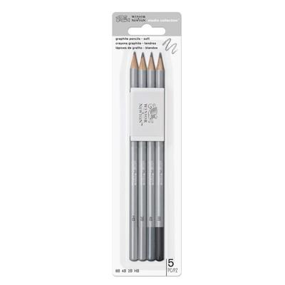 Studio Collection Graphite Pencil Set, Soft (5 Piece)