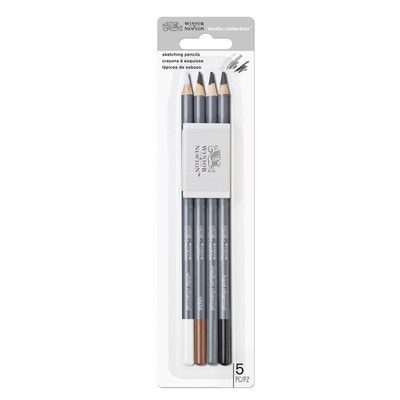 Studio Collection Sketching Pencil Set, 5 Piece