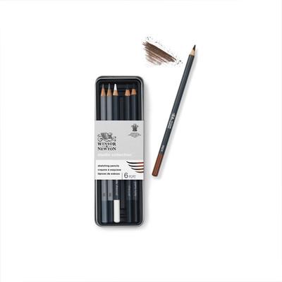 Studio Collection Sketching Pencil Tin, 6 Piece