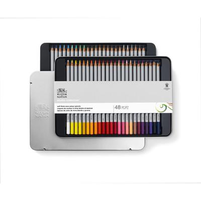 Studio Collection Colour Pencil Tin, 48 Piece