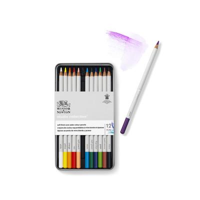 Studio Collection Watercolour Pencil Tin, 12 Piece