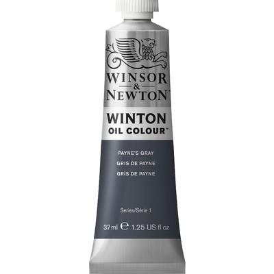 Winton Oil Colour 37ml Tube, Payne's Gray